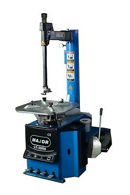 "Tire Changer Tire Machine, 12-26"" Rim Clamping Capacity w/ Bead Blast, 1.5 HP"