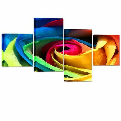 HD Canvas Print Home Decor Wall Art Painting Rose Flower Picture Print Unframed