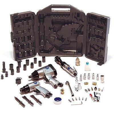 50pc Air Compressor Performance Tool Kit Chisel Impact Wrench Ratchet Electric