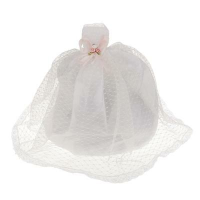 Fashion White Dot Party Wedding Gown Dress Clothes for Barbie Doll