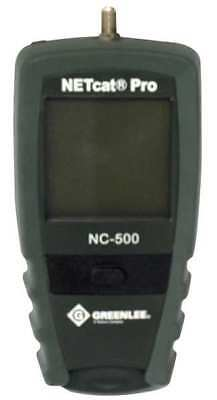 GREENLEE COMMUNICATIONS NC-500 NetCat 500 Cable Tester, VDV Wiring