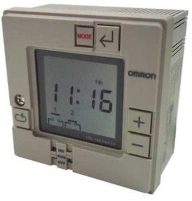 OMRON H5L-A Electronic Timer, 7 Days, (2) SPST-NO
