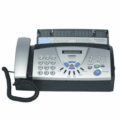 NEW Brother Fax Plain Paper Fax 827S Fax Machines Phone Fax