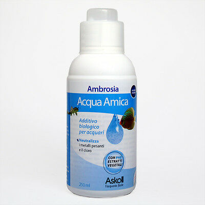 ASKOLL ACQUA AMICA 250ML ADDITIVO BIO PER ACQUARIO cod. 83001680