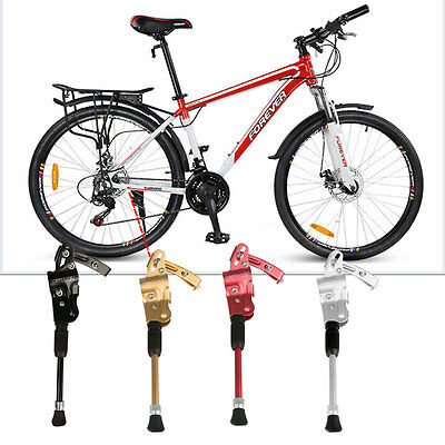 Cycle MTB Mountain Bike Bicycle Kickstand Prop Side Rear Support Aluminium Alloy