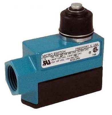 Enclosed Limit Switch, 240VAC/DC, Honeywell Micro Switch, DTE6-2RN