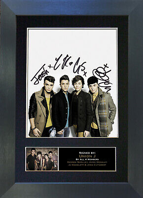 UNION J Signed Mounted Autograph Photo Prints A4 308