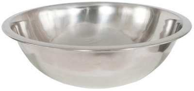 CRESTWARE MB16 Mixing Bowl, Stainless Steel, 16 qt.