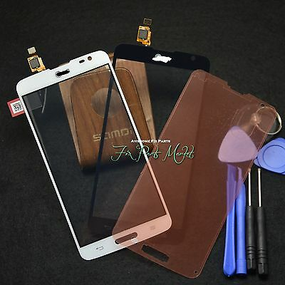 Front Glass Screen Touch Digitizer For LG G Pro Lite D680 D685 w/Frame tapes