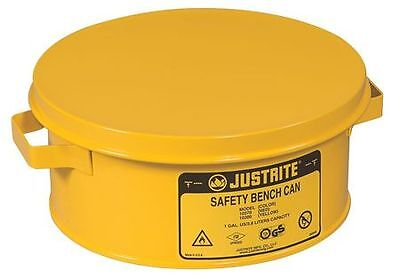 Bench Can, Yellow ,Justrite, 10385