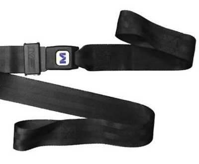 Stretcher Strap ,Loop Lock End,5 ft.,Blk