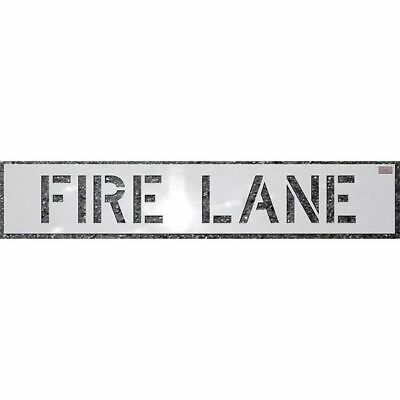 CH HANSON 70031 Stencil,Fire Lane,12 x 9 In.