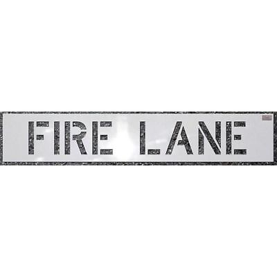 Stencil,Fire Lane,12 x 9 In. C.H. HANSON 70031