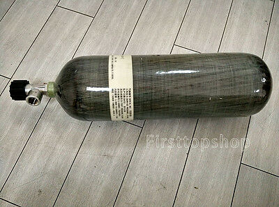 9L Compressed Air Cylinder, 300bar/30mpa, Carbon Fiber, High Pressure Composite