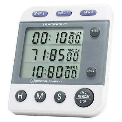 TRACEABLE 5008 3-Channel,Jumbo Timer,Traceable