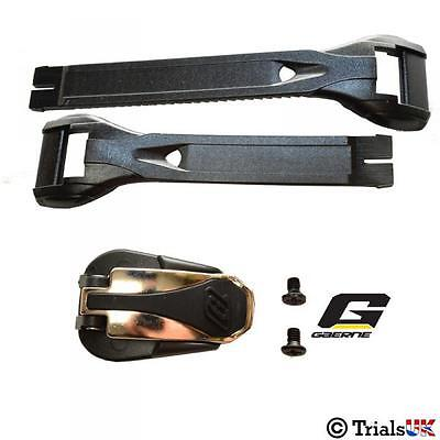 Gaerne Trials and MX Part Boot Buckle And Strap Kit Black Or White