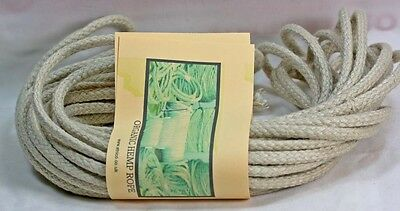 Braided HEMP rope - Platted  Cord    Natural -   Crafts - Macrame - Gardening -