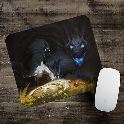 Classic Kindred Mousepad League of Legends mouse pad LoL gamer playmat