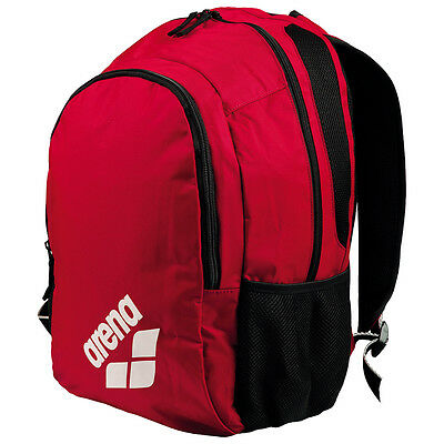 NEW Arena Spiky 2 Backpack Red Team