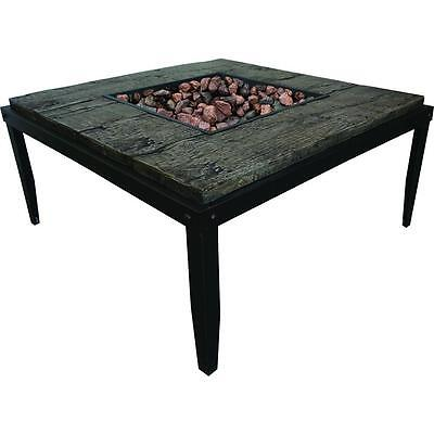 "Bond Manufacturing 18"" Tall Tiburon 50,000 BTUs Stainless Steel Table Fire Pit"