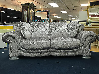 Velvet Sofa Pendragon Vienna, 3 + 2 Free Delivery Also Available in Black