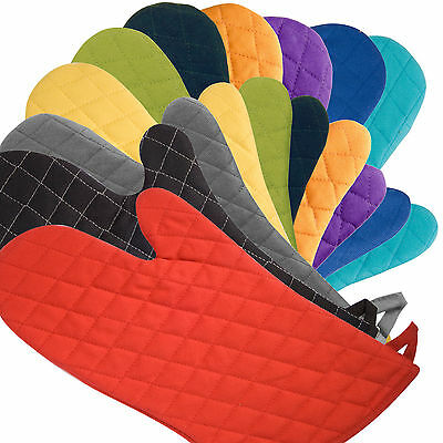 Now Designs Gauntlet Oven Glove / Mitt - 11 colours - 100% Quilted Cotton