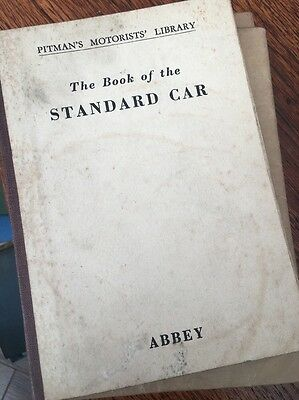Pitman's book of Standard and Flying Standard - all models 1934-48