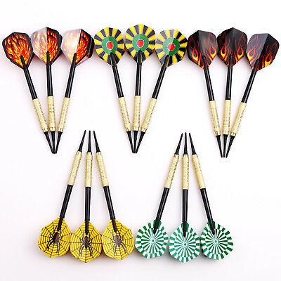 15 pcs of Soft Tip Darts 10g for Electronic Dartboard Plastic Needle Dart