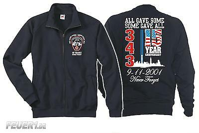 Sweatjacke navy: 9/11 WTC 15 YEARS - NEVER FORGET