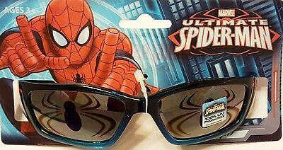 ULTIMATE SPIDERMAN   kids Shatter resistant Sunglasses Ages 3+  Spider New K