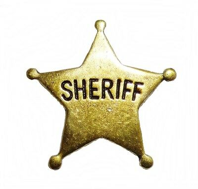 Anstecker Pin Sheriffstern Sheriff Western Country Wilder Westen 09