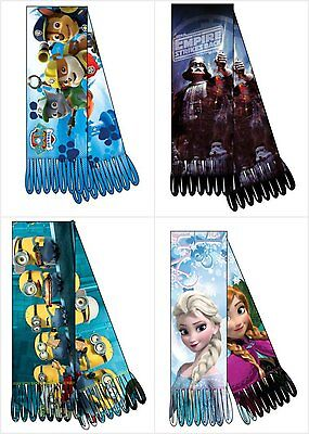 Minion Scarf Polar Fleece Scarf Minions Scarf Boys Official