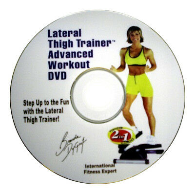 DVD para Stepper Lateral Muslo Zapatillas con Brenda Dygraf