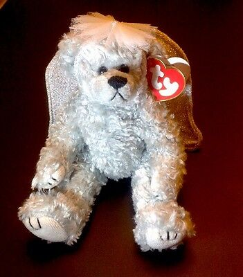 Ty The Attic Treasures Collection - Retired - Sterling Bear - Rare Beanie Baby
