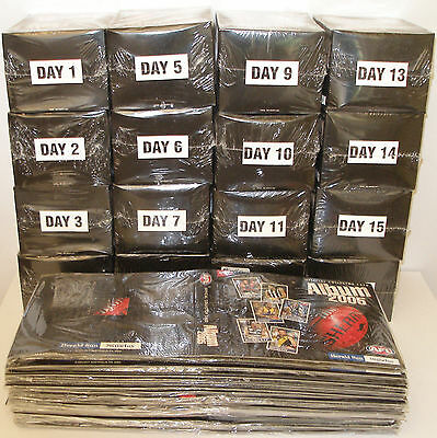 2005 HERALD SUN AFL set of 16 boxes with INSERTS