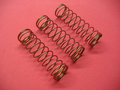 Set of 3 New Conn Sousaphone/Sousa,Tuba Valve/Piston Springs!