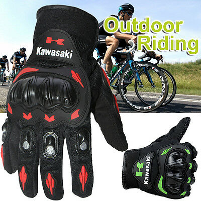 Winter Full Finger Racing Motorcycle Gloves Cycling Bicycle MTB Bike Riding