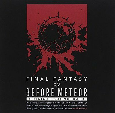 Before Meteor: Final Fantasy Xiv Soundtrack [Japan BD] SQEX-20012 [Blu-ray]