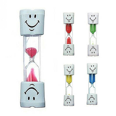 Children Tooth Brushing Timer 2 Minutes Smiling Face Sandglass Hourglass Lovely