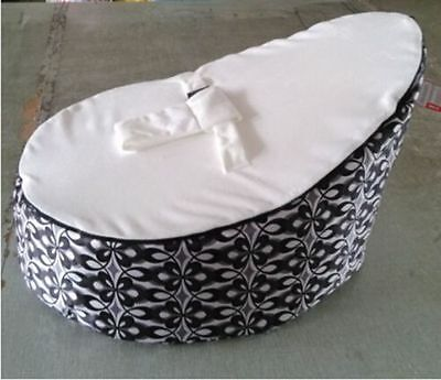 2017 Baby Bean Bags infant Snuggle Seat Bed 2 Upper Layer No Fillings Angel Eyes
