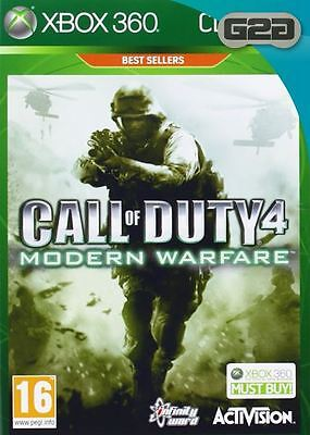 Call of Duty 4 Modern Warfare Classics Xbox 360 Game New Sealed Official PAL UK