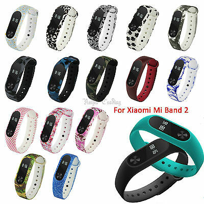 Multi-color Printing Wrist Band Strap Replacement Bracelet For Xiaomi Mi Band 2