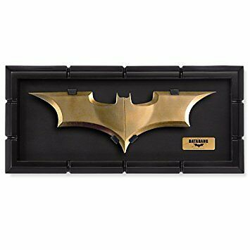 Batman The Dark Knight Batarang Prop Replica With Display Noble Collection