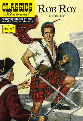 Classics Illustrated Rob Roy - Modern # 62 by Sir Walter Scott