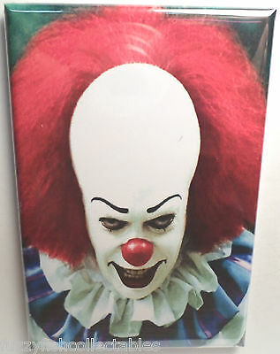"""Pennywise IT 2"""" x 3"""" Refrigerator Locker MAGNET Style 1"""