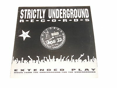 """Uncle 22 - 12"""" Maxi - Your Love - Strictly Underground Records STUR 42"""