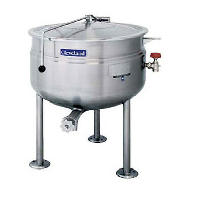 Cleveland KDL100F 100 Gallon Capacity Stationary Direct Steam Kettle