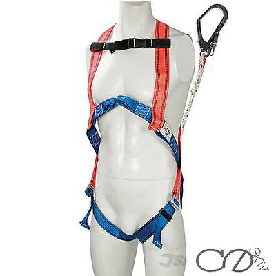 Fall Arrest Kit - Safety Harness and Lanyard - Scaffold Harness Kit