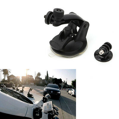 Suction Cup Mount Adapter Tripod Camera Accessories For Gopro Hero 4/3/2/HD New