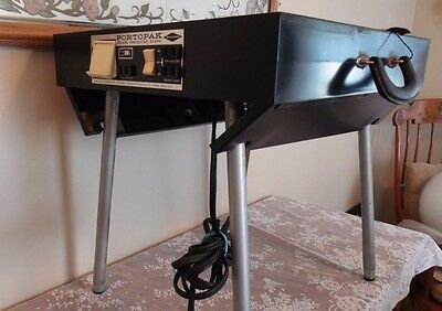Vintage PortoPak Deluxe Projector Stand Sawyers Inc Electrical Home Movie Stand